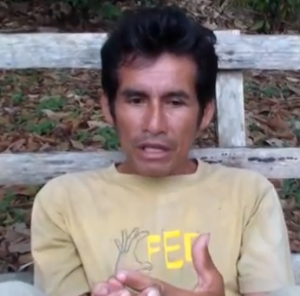Indigenous leader and anti logging activist